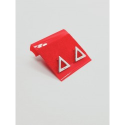 Cercei contur triunghi,...