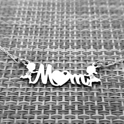 Colier Mama & Copii, MOM,...